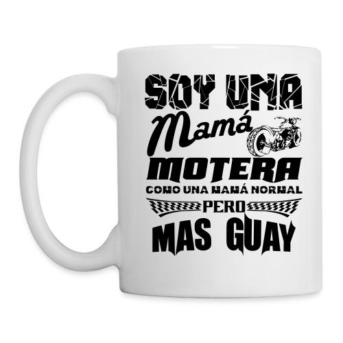 Soy una mamá motera - Taza
