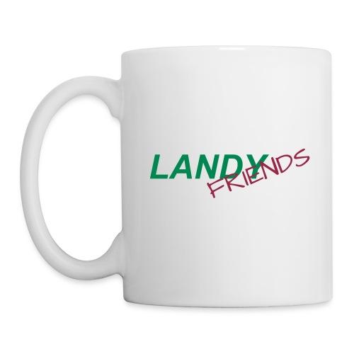 landyfriends schriftzug klein mit ai - Tasse