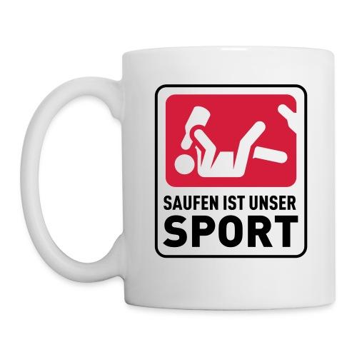 Bundesliga - Saufdesign Saufen ist unser Sport - Tasse