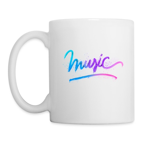 Music Lettering - Taza
