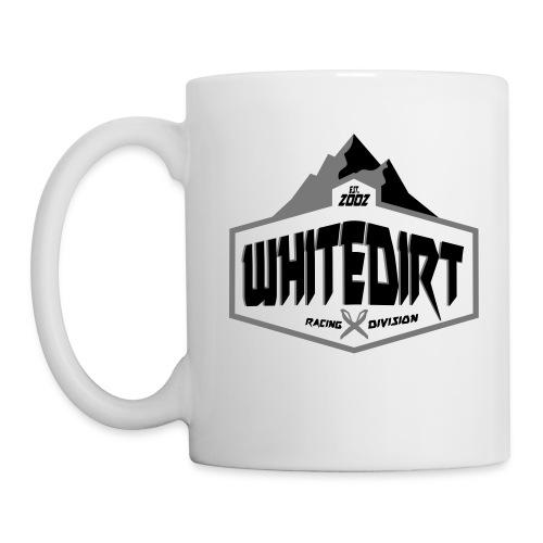 White Dirt Mountain Eco White / Orange - Mug