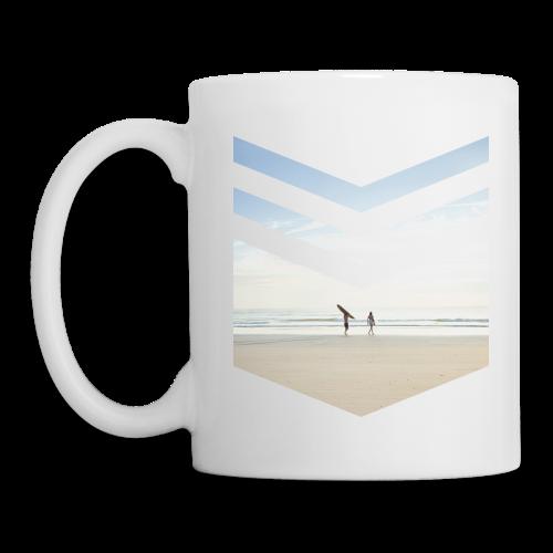 Surfing Beach - Tasse