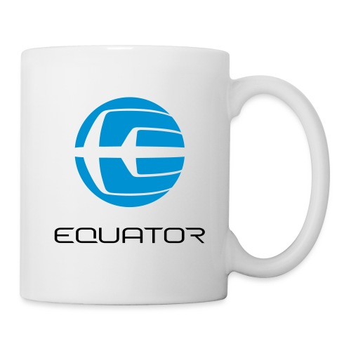 EQ LOGO GLOBE ONTOP notex - Mug