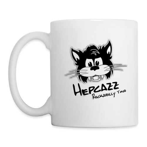 hepcazzlogo aufweiss - Tasse