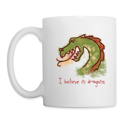 I believe in dragons - Mug