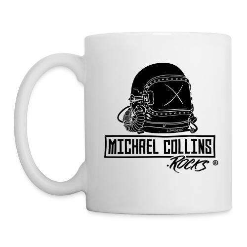 michaelcollins.rocks Logo Astronaut - Tasse