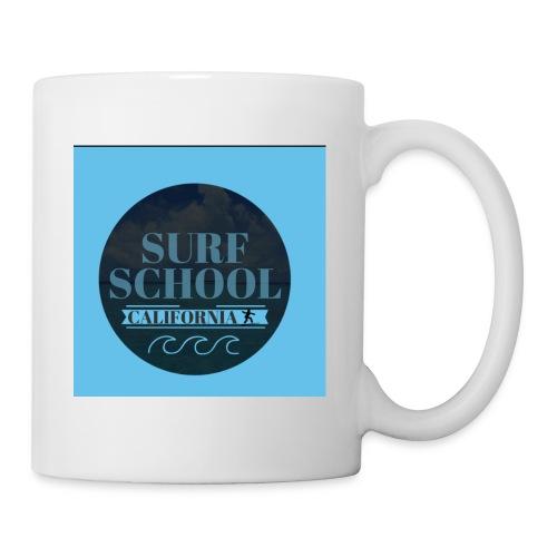 Surf - Mug blanc