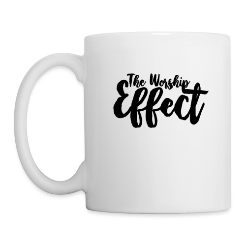 The Worship Effect LOGO Black - Mug