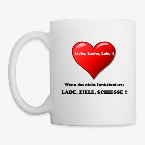 Liebe, Lache, Lebe!! - Tasse