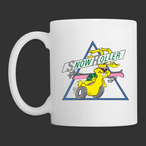 SnowRoller logo - Mugg