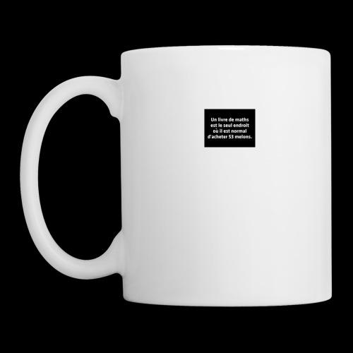 drôle - Mug blanc