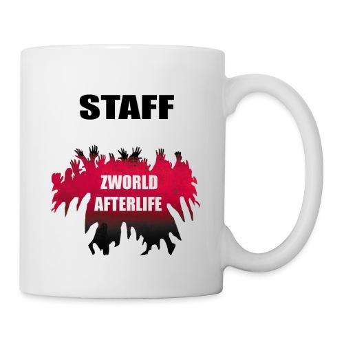 Zworld STAFF White - Mug blanc