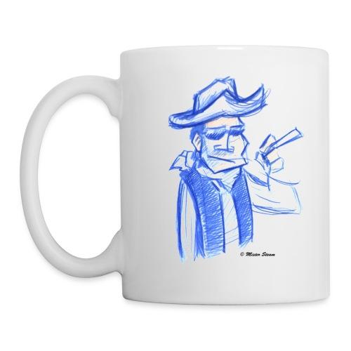 Mister steam Skizze groß - Tasse