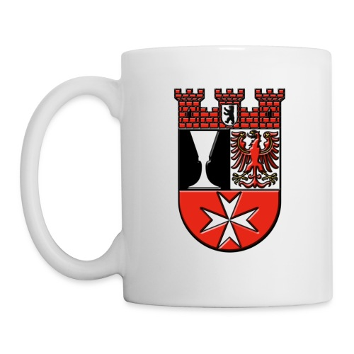 Berlin Bezirk Neukölln Wappen - Tasse