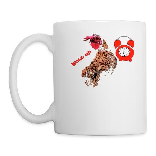 Wake up, the cock crows - Mug