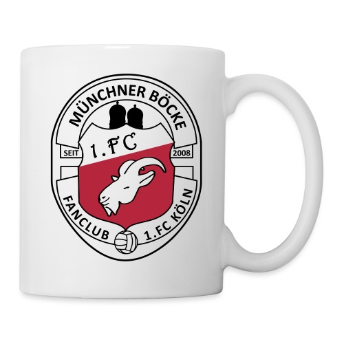 mb fclub logo kleiner - Tasse