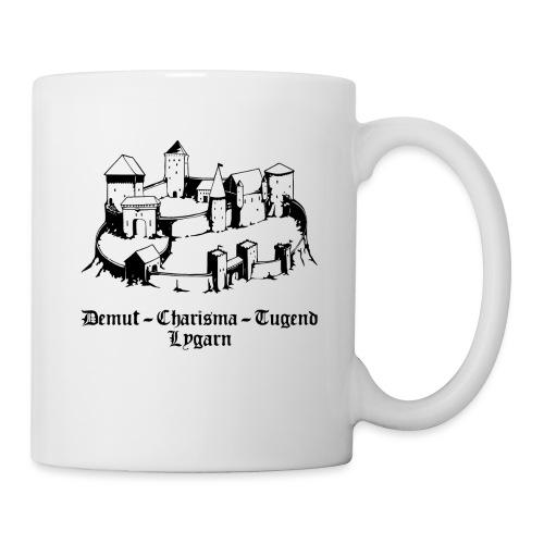 Lygarn-Shirt_demut_dunkel - Tasse