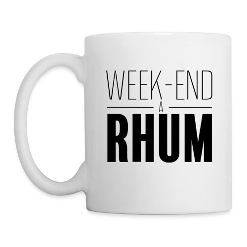 Week-end à rhum - Mug blanc