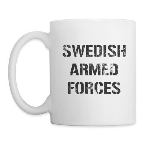 SWEDISH ARMED FORCES - Rugged - Mugg