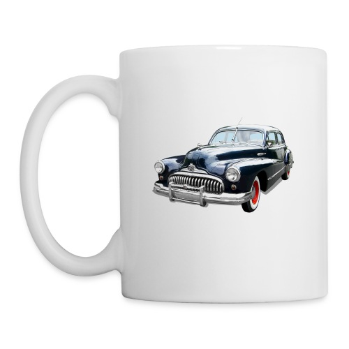Classic Car. Buick zwart. - Mok