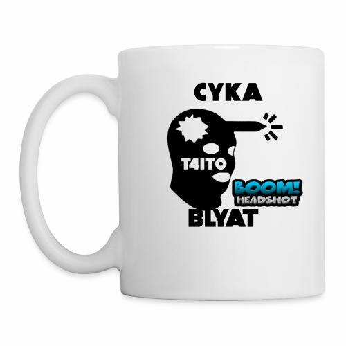 CYKA BLYAT T4IT0 - Tasse