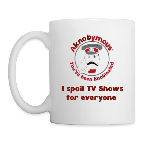 Knobination - TV Show Spoiler - Mug