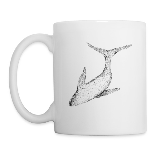 baleine - Mug blanc