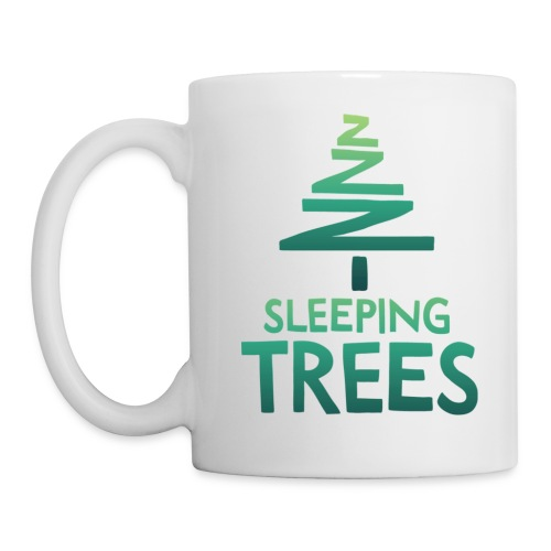 SleepingTrees Colour LightBackground png - Mug