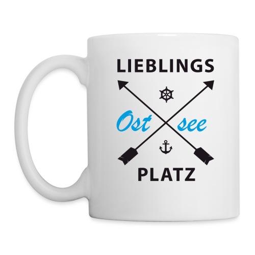 Lieblingsplatz Ostsee - Tasse