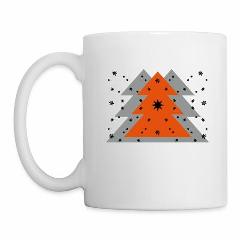 Weihnachten und Schnee - Tasse