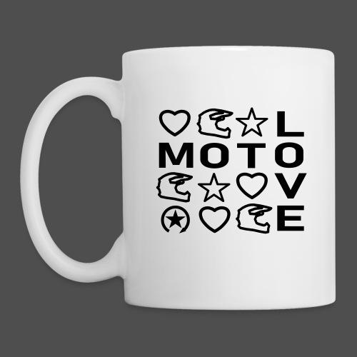 MOTO LOVE - Kubek