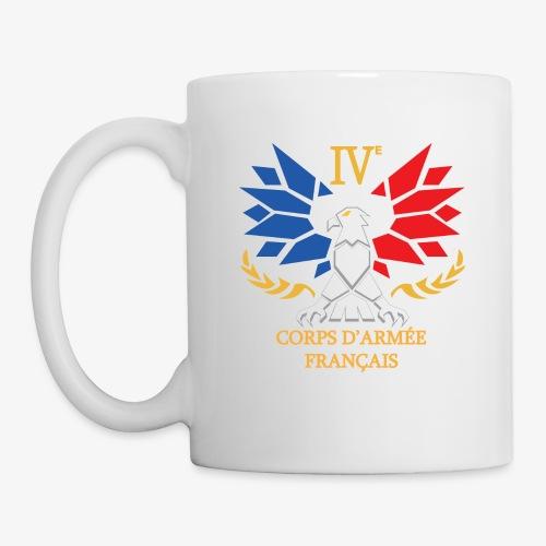IVe Corps logo - Mug blanc