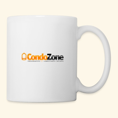 logo_condozone+bottom-lin - Mug blanc