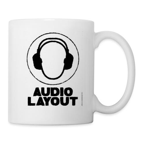 logo AL headphoneman png - Tasse