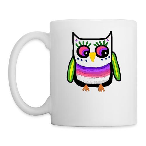 Colorful owl - Mug