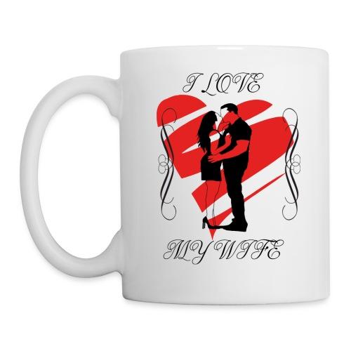 ilovemywife - Mug blanc