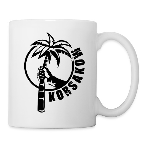 krskw palmewedeln 20cm black - Tasse