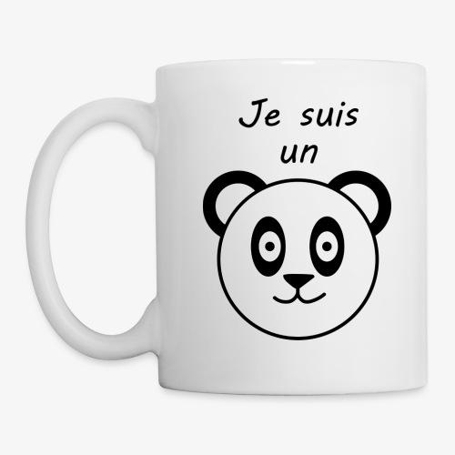 panda - Mug blanc