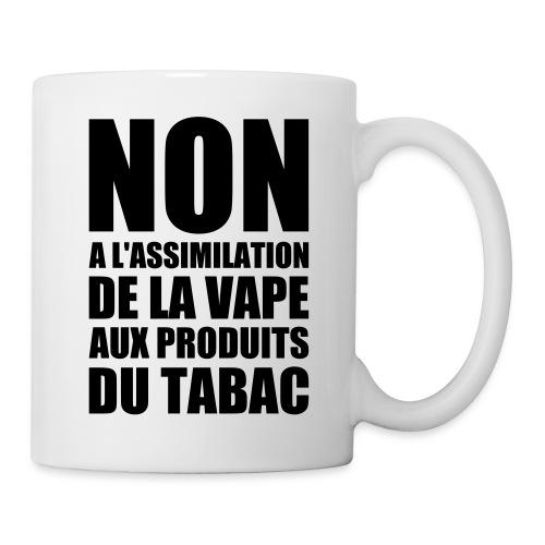 tshirt non fr 1 exp - Mug blanc