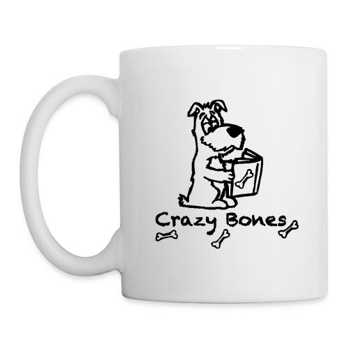crazy bones shirtschwarz - Tasse