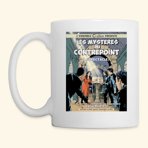 Affiche Les Mystères du contrepoint - Mug blanc