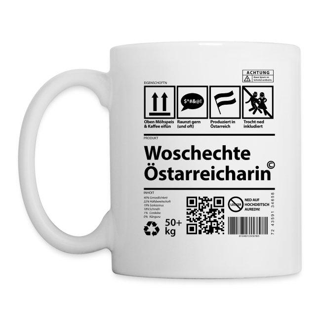 Vorschau: Woschechta Österreicha - Tasse