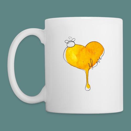 Heart Bee LOVE - Mug blanc