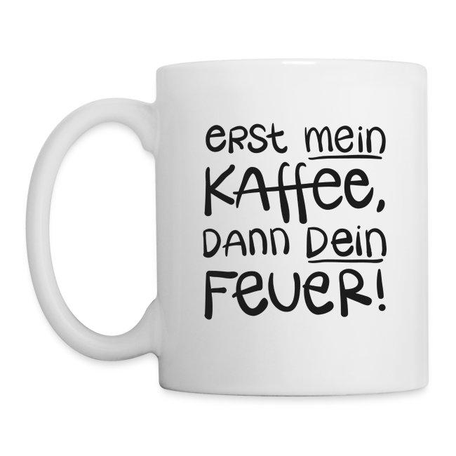 Kaffee geht vor