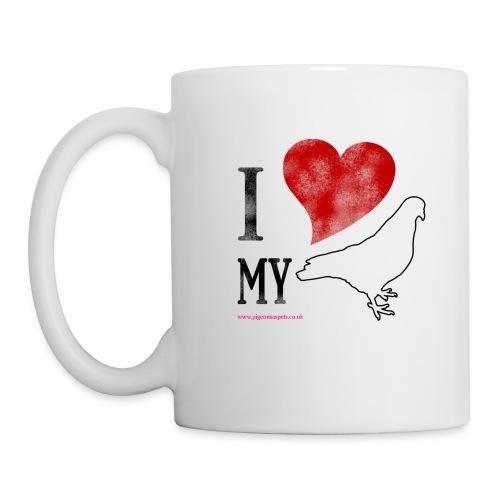 i love my pigeon - Mug