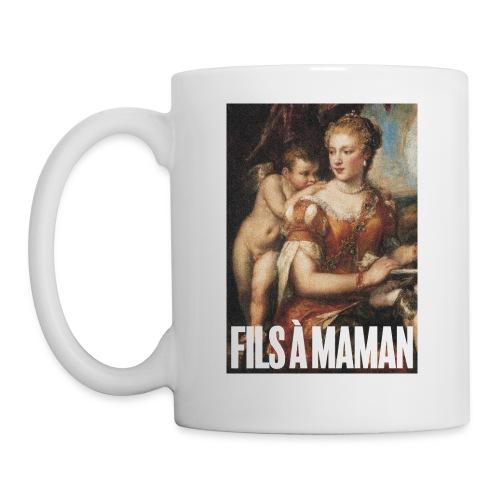 Fils à maman - Mug blanc