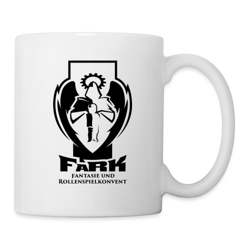 fark_logo_outline_black - Tasse