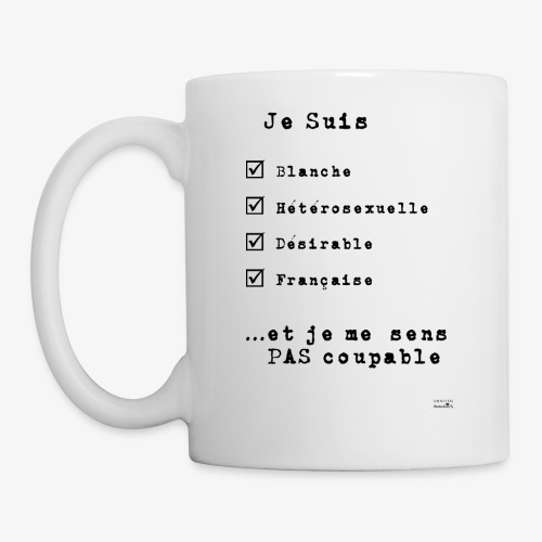 IDENTITAS Femme - Mug blanc