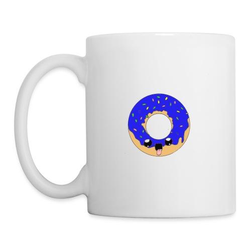 donut22blue - Mug blanc