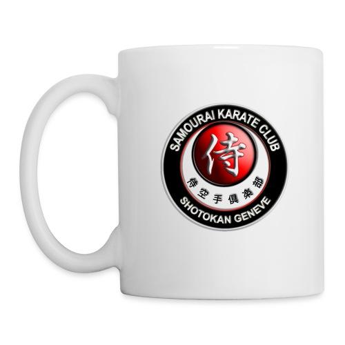 logo samourai rond - Mug blanc
